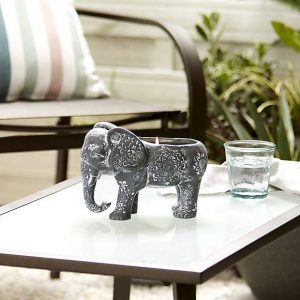 Grey Elephant Citronella Candle
