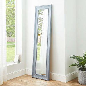 Grey Leaner Mirror