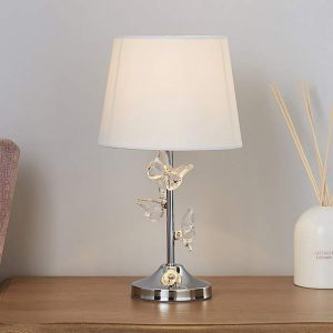 Eva Ivory Table Lamp