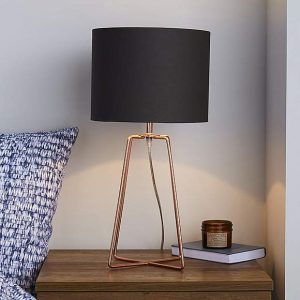 Hester Wire Base Copper Table Lamp