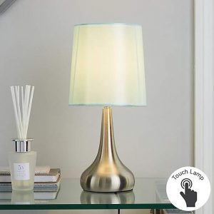 Rimini Duck Egg Touch Dimmable Lamp