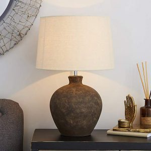 Santiago Large Washed Urn Table Lamp